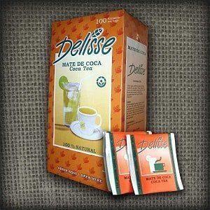 coca tea or mate de coca